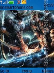 Скриншот темы Warcraft 3 dota
