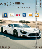 Zenvo Dream theme screenshot