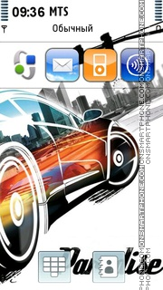 Burnout Paradise 05 theme screenshot
