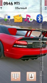 Drag Race Motor theme screenshot