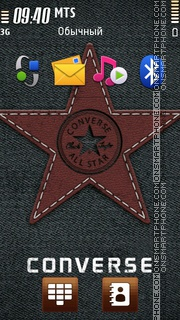 Converse Logo theme screenshot