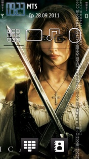 Penelope Cruz 08 theme screenshot