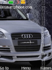 Audi Q7 tema screenshot