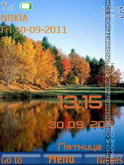 Colorful Autumn tema screenshot