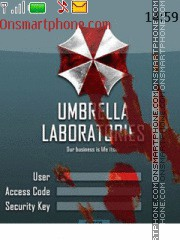 Umbrella corporation theme screenshot