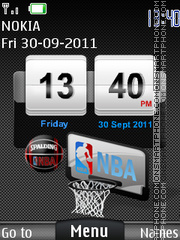 Nba 07 theme screenshot