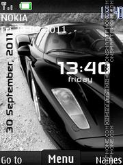 Ferrari Enzo 05 theme screenshot