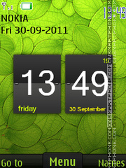 Green Theme 03 theme screenshot