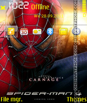 Spiderman 09 theme screenshot