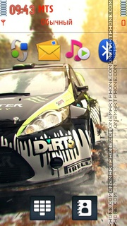 Dirt3 01 theme screenshot