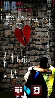 Miss You 11 Theme-Screenshot