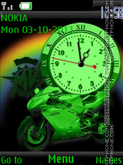 Moto Green By ROMB39 theme screenshot