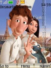 Capture d'écran Ratatouille thème
