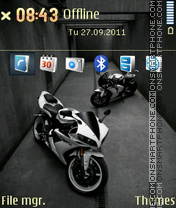 Yamaha R12 theme screenshot