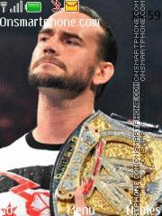 CM Punk theme screenshot