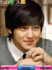 Kim Sang Bum 01 theme screenshot
