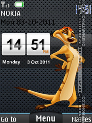 Timon 02 theme screenshot