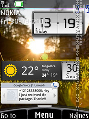 Android Widgets Theme-Screenshot