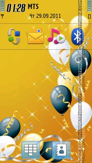 Happy Birthday 04 es el tema de pantalla