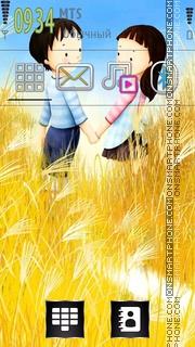 Скриншот темы Couple 05