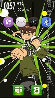 Ben 10 01 theme screenshot