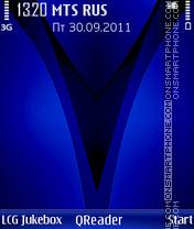 V-Blue es el tema de pantalla