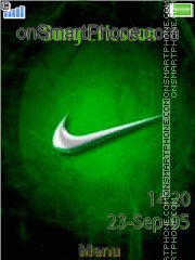 Nike Logo 01 theme screenshot
