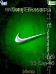 Скриншот темы Nike Logo 01