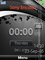 Blackberry Clock es el tema de pantalla