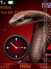 Cobra Clock 02 theme screenshot