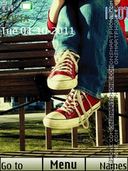 Converse Love theme screenshot