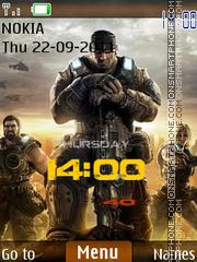 Gears Of War 04 theme screenshot