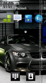 Скриншот темы Bmw M5 Car