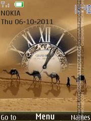Desert theme screenshot