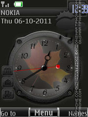 Autumn in Grey By ROMB39 theme screenshot