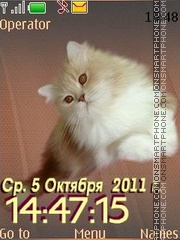 Cat 12 swf Theme-Screenshot