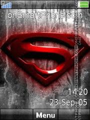 Capture d'écran Superman 11 thème