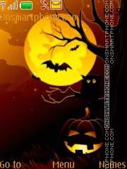 Halloween With Tone 01 theme screenshot