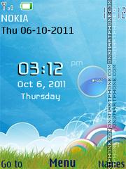 3d Fields theme screenshot