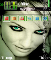 Cameron Diaz 08 theme screenshot