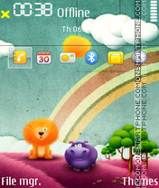 Cartoon 06 Theme-Screenshot
