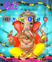 Lord Ganesha 04 theme screenshot
