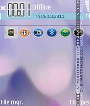 Lavender 01 theme screenshot