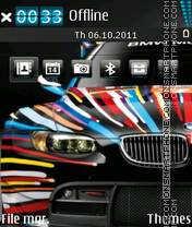 Скриншот темы Bmw Colors