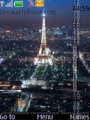 Night France tema screenshot
