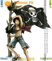 Luffy theme screenshot