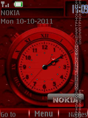 Red Neon By ROMB39 theme screenshot