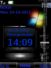 Windows Flash By ROMB39 tema screenshot