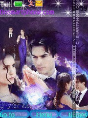 Love Salvatorov to Elena theme screenshot