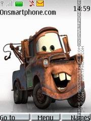Скриншот темы Cars-Metr